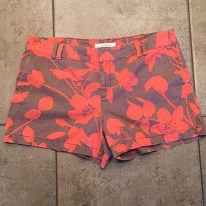 LOFT Linen Shorts Size 14